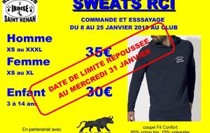 Sweats RCI