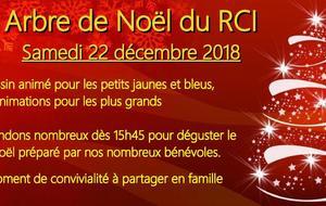 Arbre de Noël du RCI