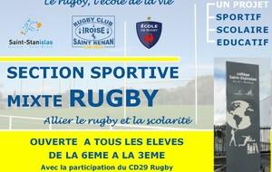 Section Sportive au Collège Saint Stanislas